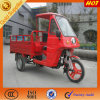Simple Semi Cabin Box with Open Cargo Tricycle for Adults
