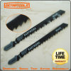 5-Piece T144D Assorted T Shank Woodworking Hcs Jigsaw Blade Set