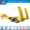 Low Bed 2 Axle 35t Semi Trailer for Hot Sale