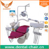 Real Leather Dental Chair, Dental Chair Unit with Dentist Stoo