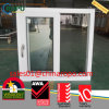 Triple Glass PVC Plastic Hurricane Impact Sliding Window
