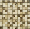 Building Material Mixed Color Natural Marble Stone Mosaic Floor Tile (FYSSC225)