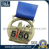 Custom Event Medal in Antique Brass Plated