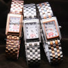 Girls Fashion Stainless Steel Bracelet Wrist Watch 3ATM Waterproof
