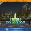 Program Control Stainless Steel Foam Nozzle Fountain