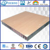 Yellow Wood Grain Color HPL Aluminum Honeycomb Panels for Ship Decoration