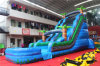 Tropical Inflatable Water Slide for Sale Chsl528