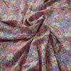 100% Rayon/Viscose Reactive Printed Fabric of Shirting and Dress