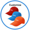 Custom Branded Logo Fashion Camo Denim Baseball Cap