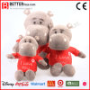 Lifelike Soft Stuffed Animal Plush Hippo Toys