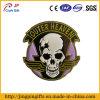 2016 New Design Custom Souvenir Metal Badge with Skull Logo