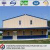 Prefab Door Frame Steel Building for Workshop with Canopy