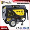 Portable 6kw 7kVA Power Petrol Silent Gasoline Generator with Wheels