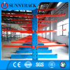 Selective Heavy Duty Warehouse Steel Cantilever Rack for Irregular Material