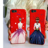 Beautiful Girl Pattern TPU Phone Case Cover for Iph 7