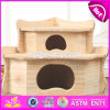New Products Funny Pet Activity Room Nature Wooden Hamster Cage W06f030