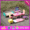 2016 Wholesale Baby Wooden Toy Furniture, New Design Wooden Toy Furniture, Fashion Children Wooden Toy Furniture W06b044