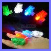 Color LED Finger Hand Holder Camping Flashlight Ring Lamp Halloween Hallowmas Light