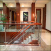 Tempered Architectural Southpark Glass Railing with Wood Top Cap