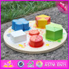 2016 Wholesale Wooden Shape Puzzle for Kids, Funny Wooden Shape Puzzle for Kids, Best Wooden Shape Puzzle for Kids W13e053