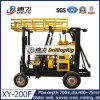 Wheel Type 200m Portable Water Well Drilling Rig for Sale