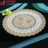 lace cup mat, hollow shape, soft pvc covering material