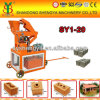 Hydraform Clay Interlocking Brick Making Machine, Hydraulic Brick Making Machine, Block Machine Sy1-20