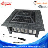Complete Accessory Charcoal BBQ Grill Steel Outdoor Fire Pits