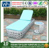 New Design PE Rattan Outdoor Furniture Leisure Sunbed