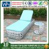 New Design PE Rattan Outdoor Furniture Leisure Sunbed