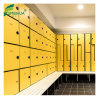 Laminated Z Shape Locker Storage Cabinets