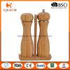 Mill Type Ceramic Mechanism Bamboo Salt and Pepper Shaker
