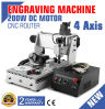 CNC 3020t USB Router Engraver/Engraving Drilling Four Axis
