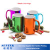 11oz Sublimation Metallic Finish Mug