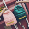 Japan Casual Backpack Pure Canvas Bag Male and Female Students