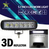 Auto 6.3inch Portable Spot Flood 18W LED Work Light
