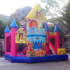 Factory Direct Sell Good Price Nice Quality Inflatable Bouncer Castle with Slide, Customized ...