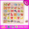 2015 New Design Kids Wooden Puzzle Game, Intelligence Wooden Children Puzzle Game, Wooden Christmas Promotion Puzzle Game W14c219