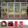 PVC Accordion Folding Doors, White Color UPVC Folding Doors