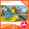 LLDPE and Steel Tube LLDPE Material and Slide Type Playground Slide