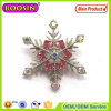 2016 Cheap Brooch in Bulk Rhinestone Snowflake Brooch in Bulk