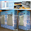 Ice Freezer for Ice Displaying Indoor