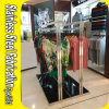 Custom Made Stainless Steel Wall Hanging Clothes Rack