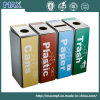 Open Top Outdoor Recycling Bin with Logo Printing