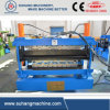 1200mm Width Double Layer Corrugated Roofing Panel Roll Forming Machine