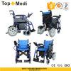 Topmedi Aluminum Folding Lithium Battery Power Electric Wheelchair