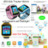 Hot Selling Kids Tracker Watch with Phone APP & Camera (D26C)