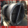 Cast Steel Dual Plate Wafer Type Swing Check Valve (H76)