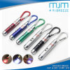 Promotional LED UV Laser Keychain Light Laser LED keychain with Mountain Climing Hook