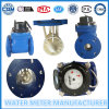 Dn100 Multi Jet Flange Pulse Water Meter, Iron Material, Cold Water Meter